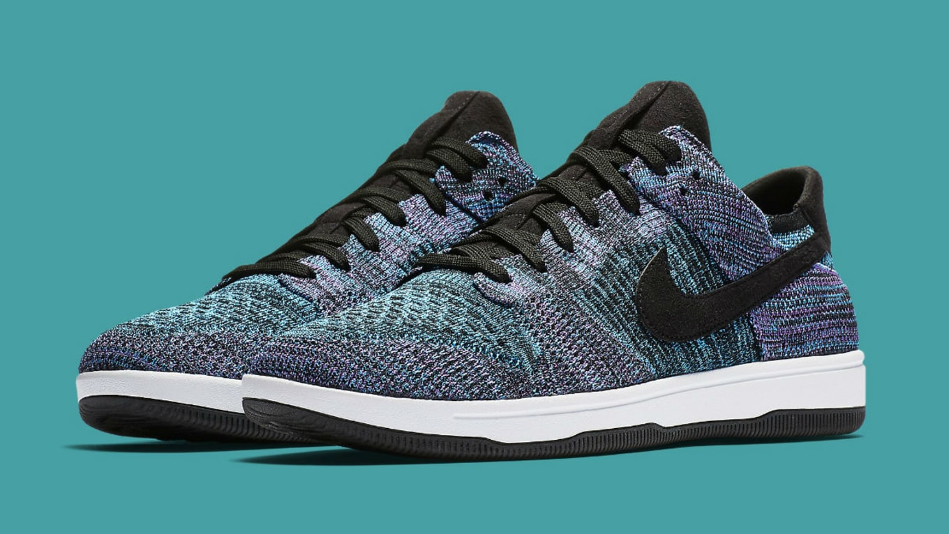 discount nike mens dunk flyknit blue black sneaker 49081 bada4  italy  images via nike 1b25a 8aaff d3054ae03