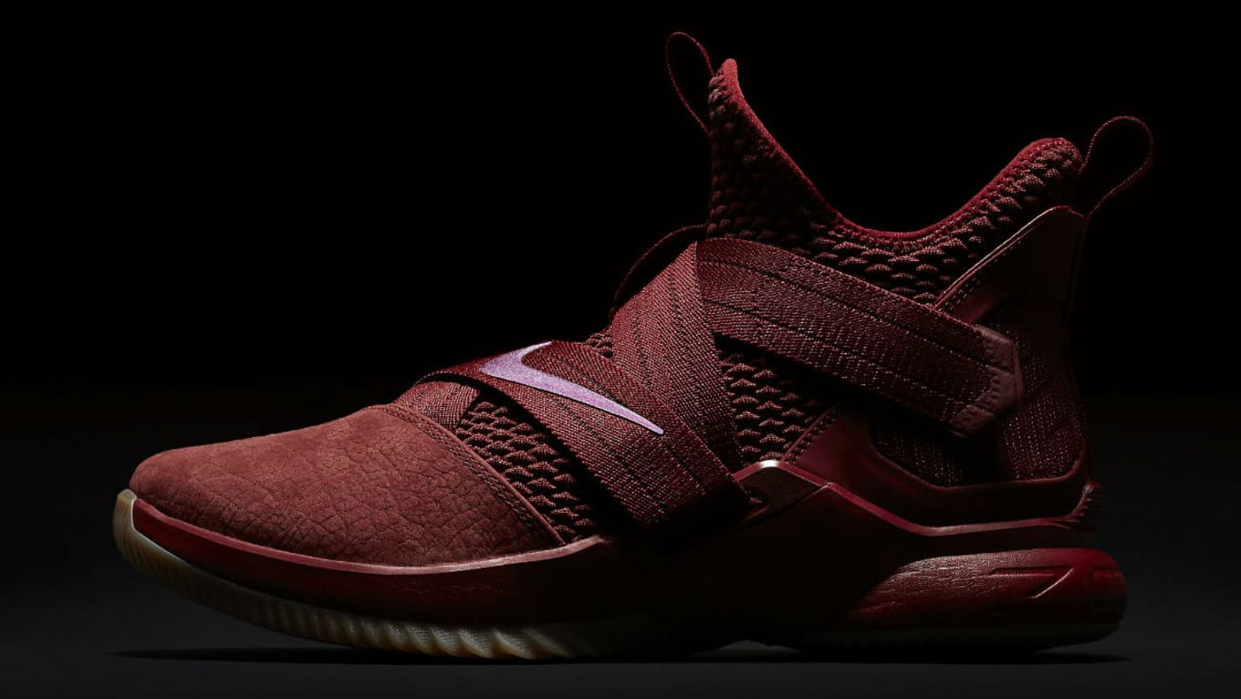 22d6e8250bf1c Nike LeBron Soldier 12 XII Team Red Cavs Release Date AO4055-600 ...