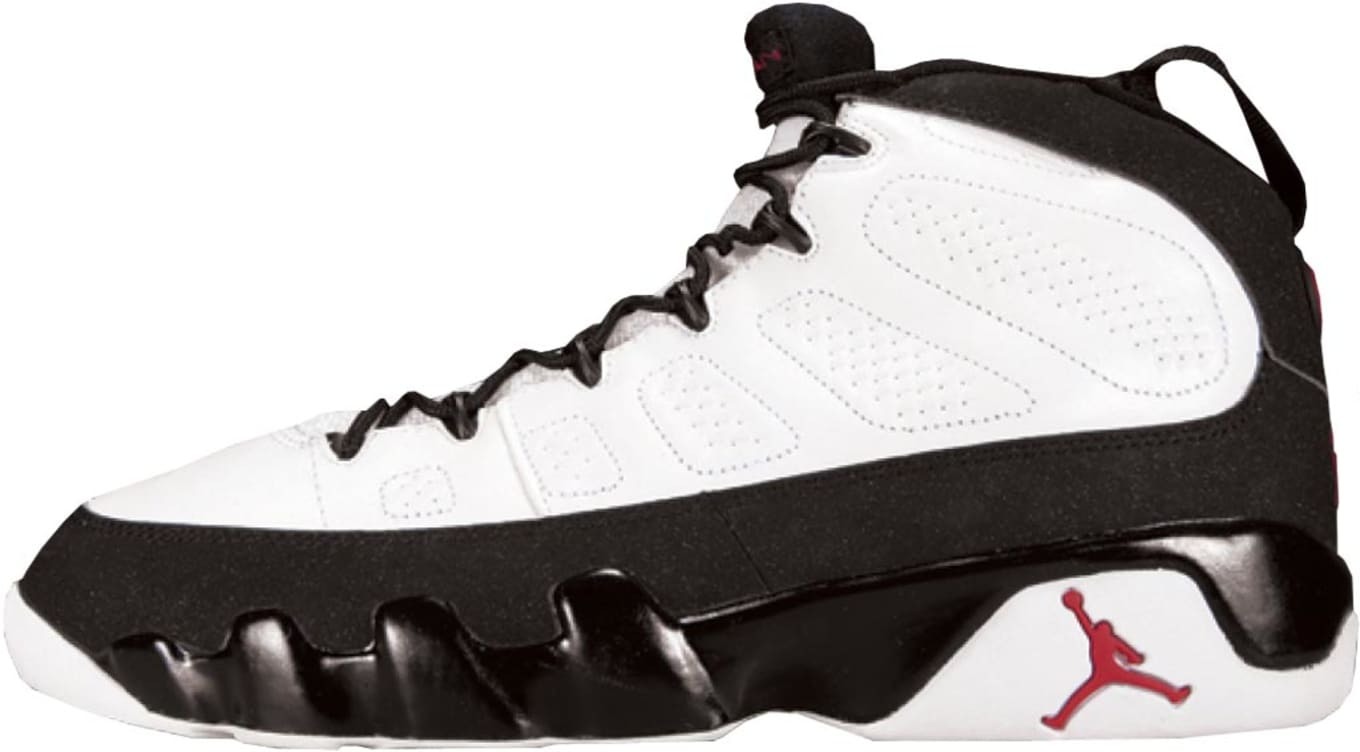 fd2713ef404e84 Air Jordan 9 White Black-True Red