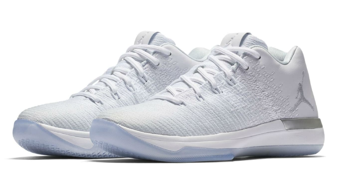 1586c10ef0da The Air Jordan 31 Low You Need This Summer. All-white colorway releasing  early next month.