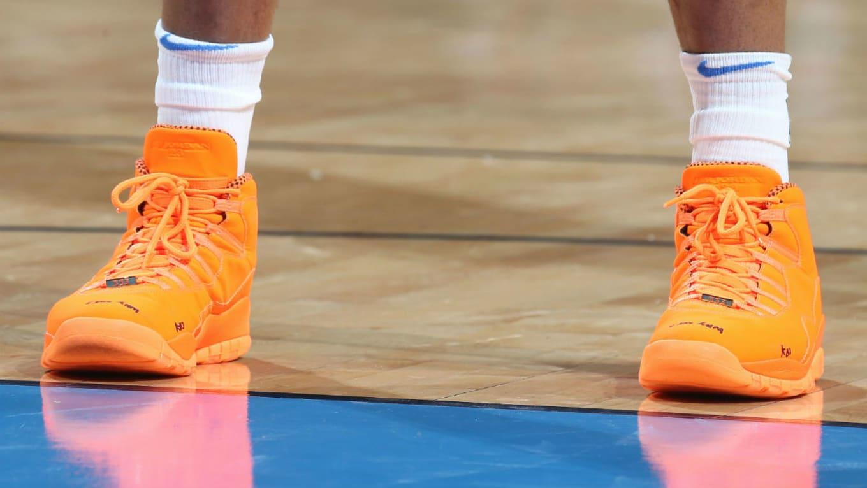 9275e21d06728c Russell Westbrook Air Jordan 10 MVP Orange PE
