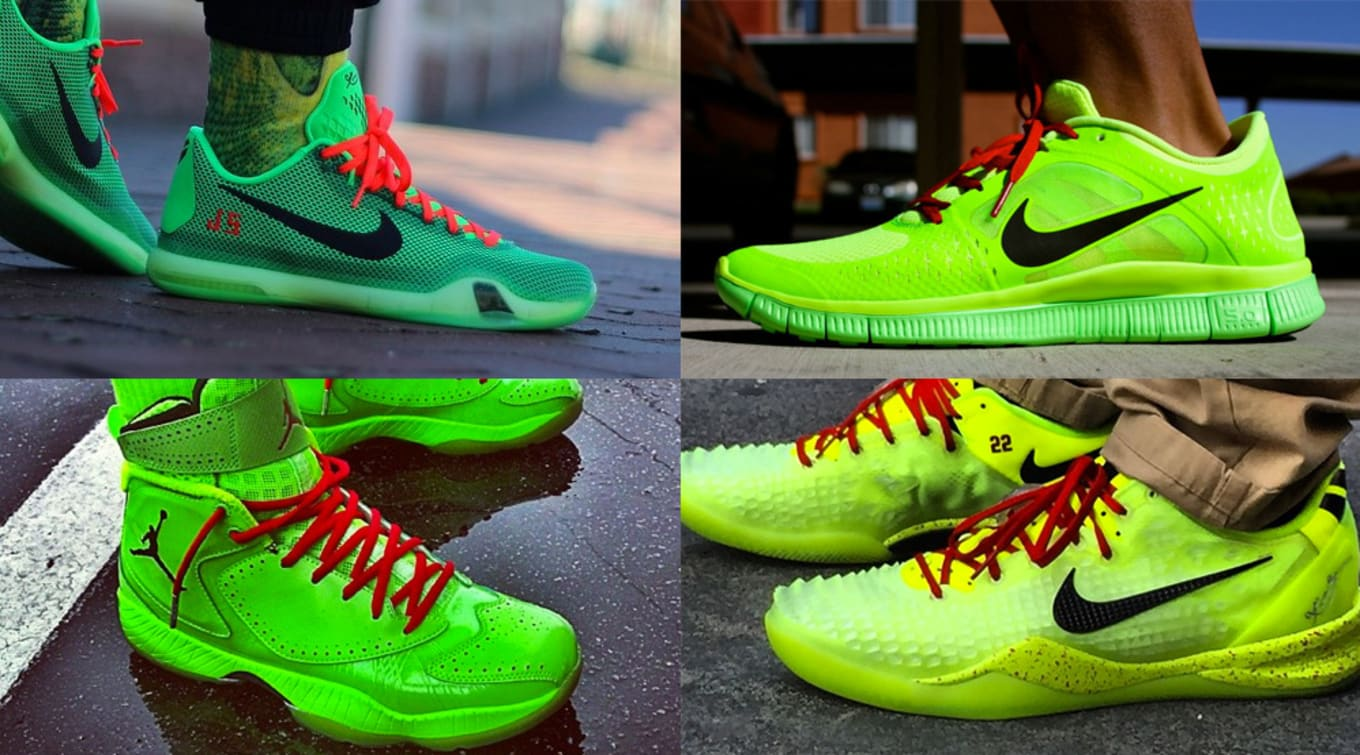 premium selection 1371b 0c1a9 While Nike never officially linked the bright green style to the iconic Dr.  ...