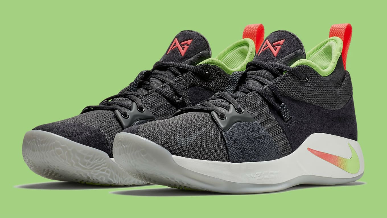 311bda1bb0a Nike PG 2 Anthracite Hot Punch White Wolf Grey Release Date AJ2039 ...