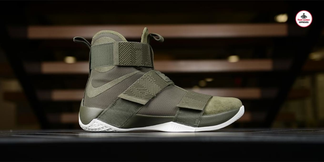 separation shoes ea77d 2dd9b Nike LeBron Soldier 10 Lux Olive Release Date | Sole Collector