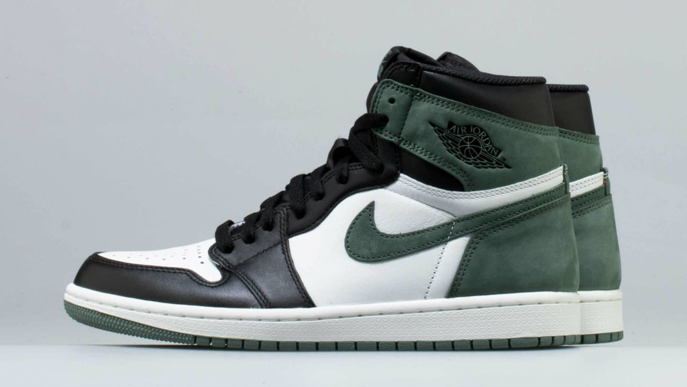5dce0a3cc79739 Air Jordan 1 Clay Green Release Date 555088-135