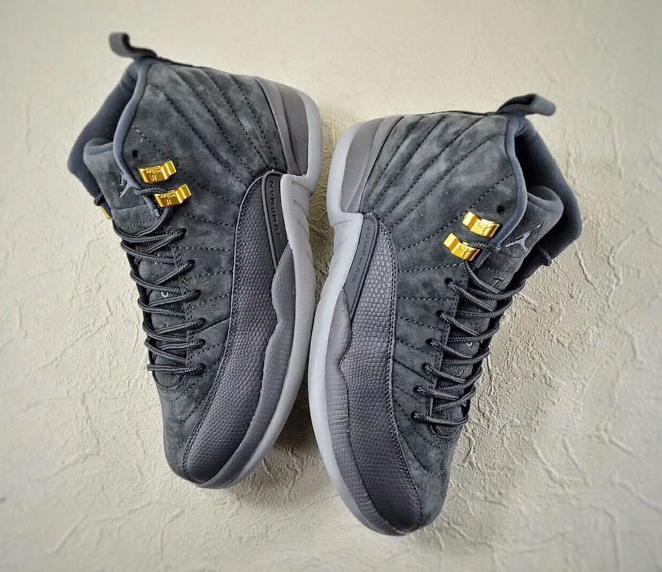 4723b77534a7  Dark Grey  Air Jordan 12 Retro Set for October Release