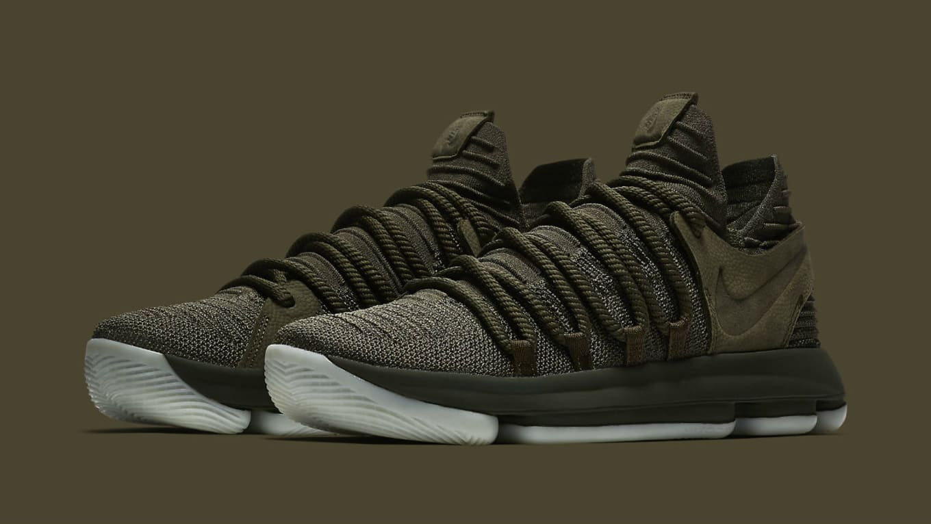 finest selection 34c15 be21d NikeLab KD 10 Olive Release Date Main 943298-900   Sole Collector