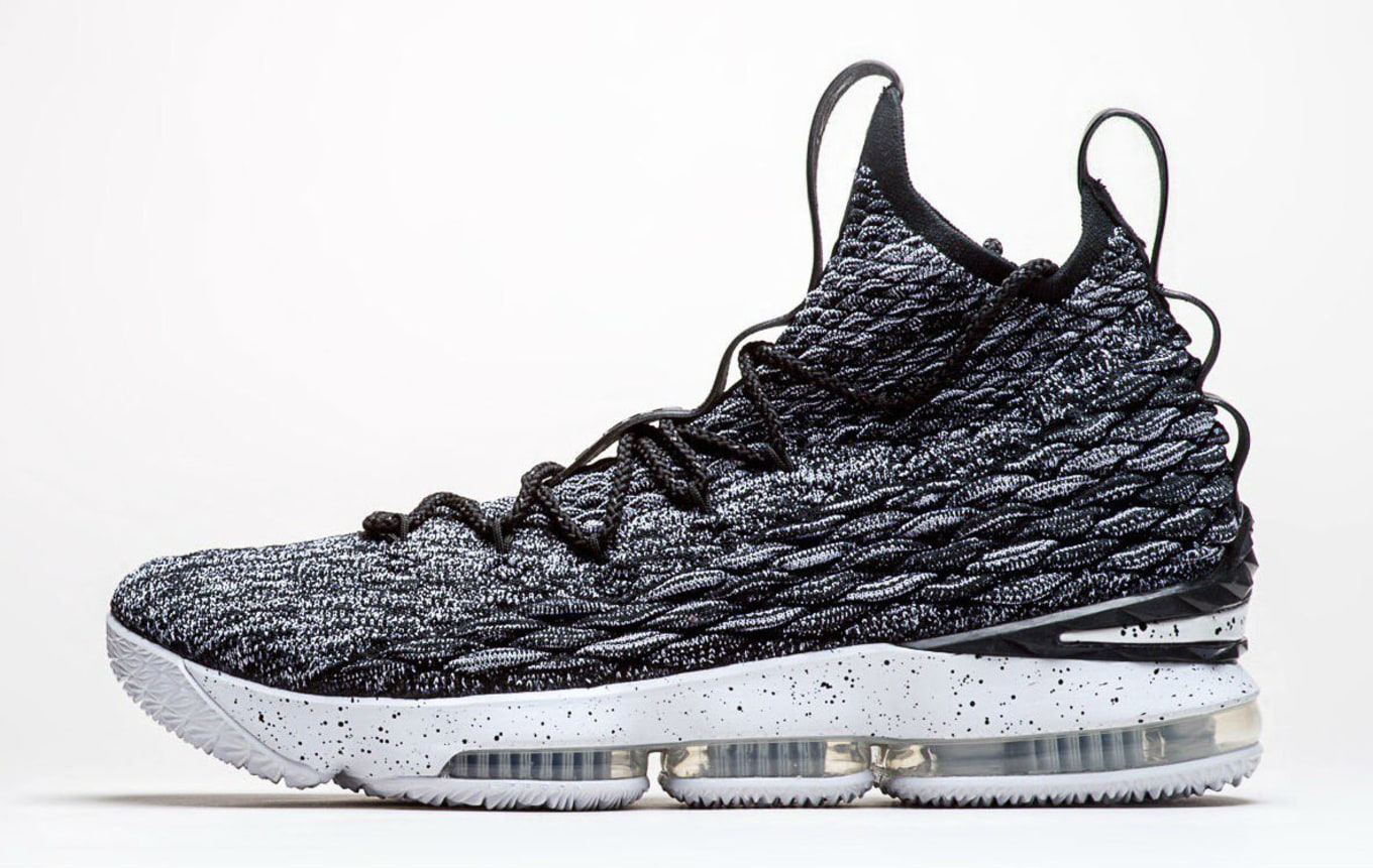 7e04bed447ec Nike LeBron 15 Black White Ashes Release Date 897648-002