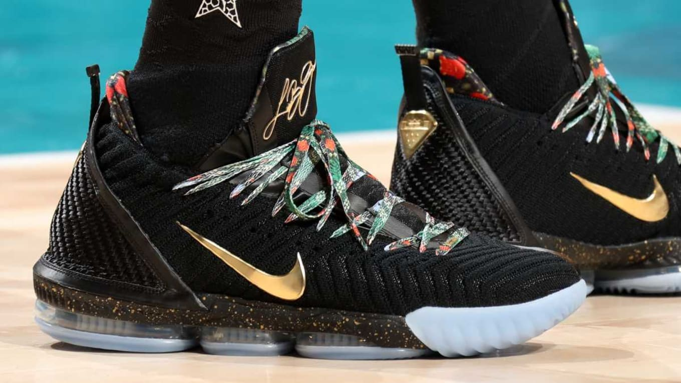 best service e0b1b 9df25 Every LeBron James Sneaker 2018-2019 Season   Sole Collector