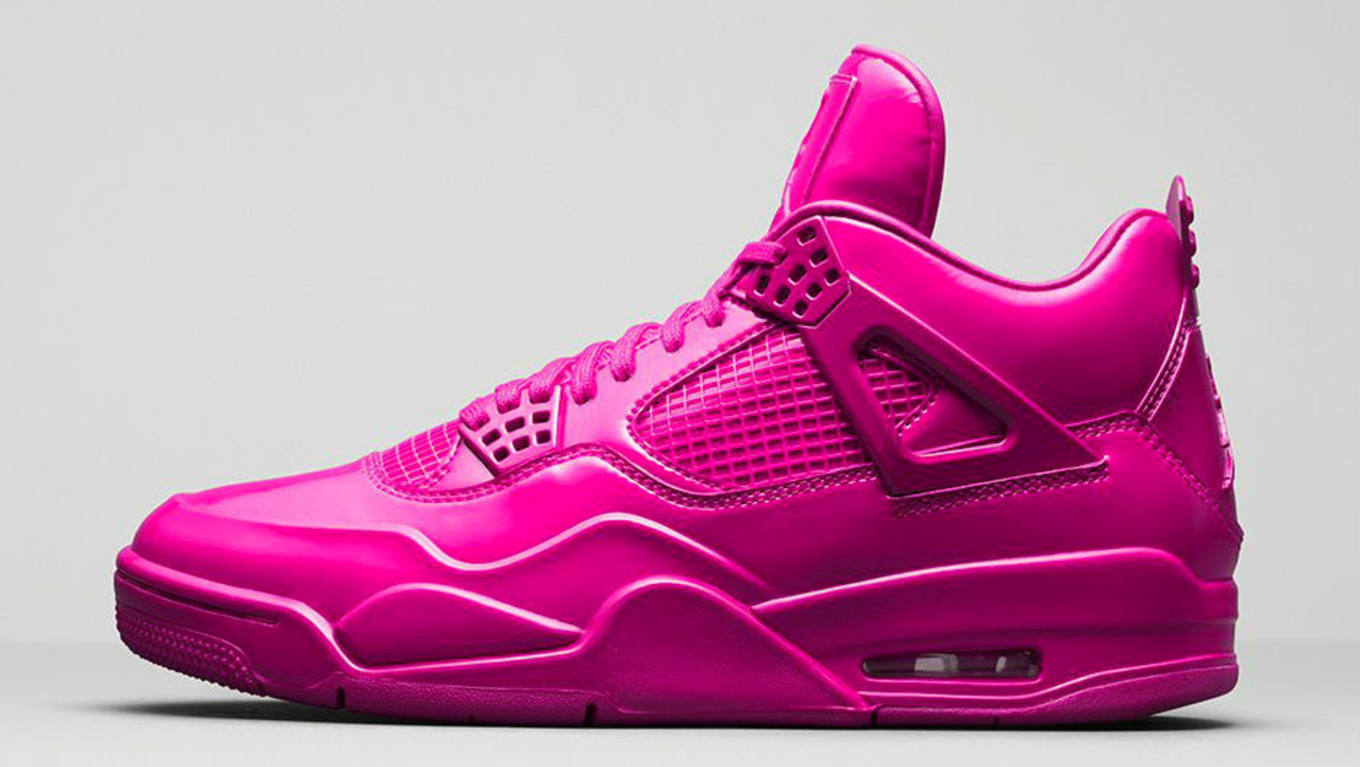 76f00472b4e9  Pink Patent  Women s Air Jordan 4 Set for 2019. Another new colorway  expected to debut early in the year.