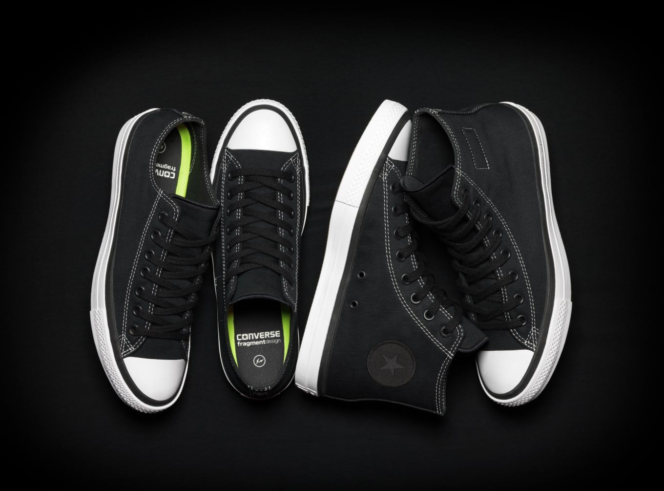 6b280e6a2b64 Fragment Design x Converse Chuck Taylor All Star SE Collection ...