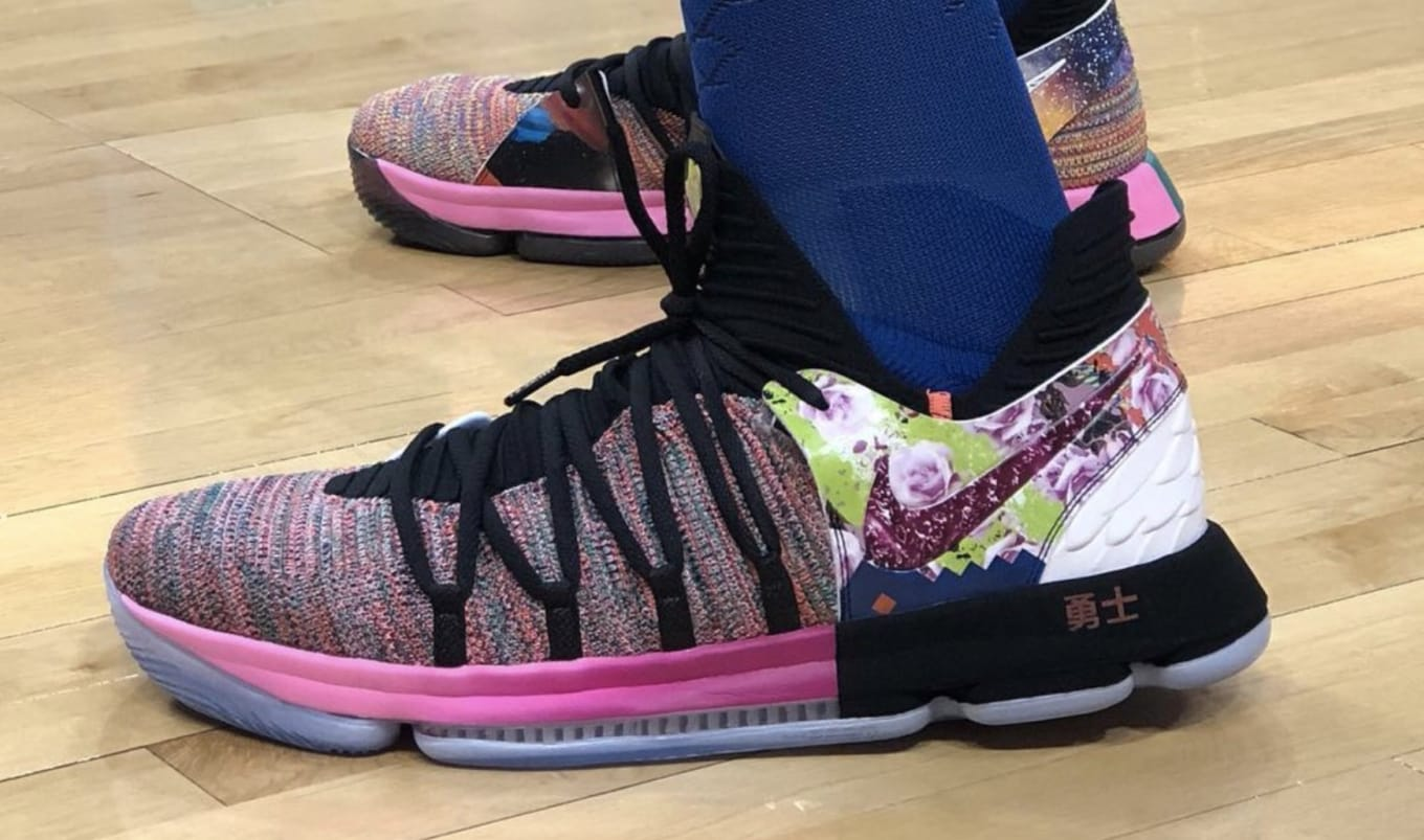 ed6de3223f1 Nike KD 10 X PE  What the  Release Date