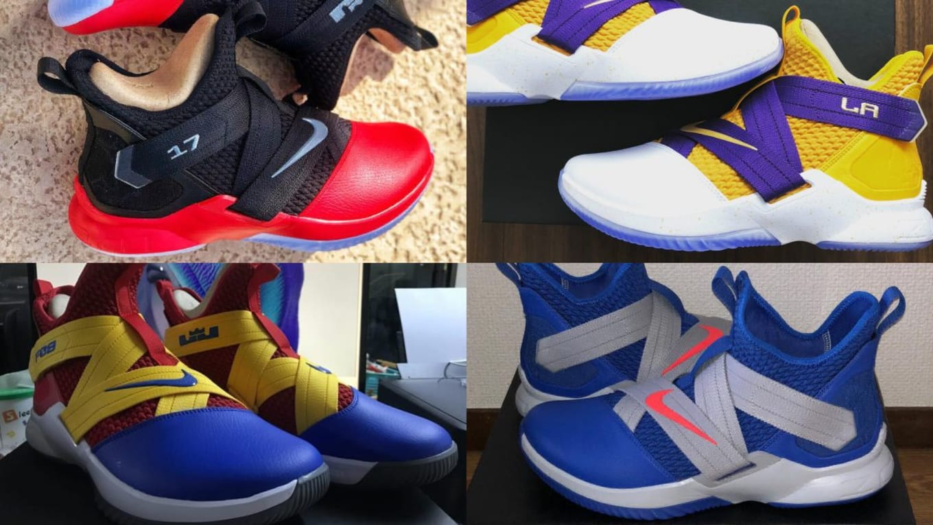 6d502f5ed345 NIKEiD LeBron Soldier 12 Designs | Sole Collector