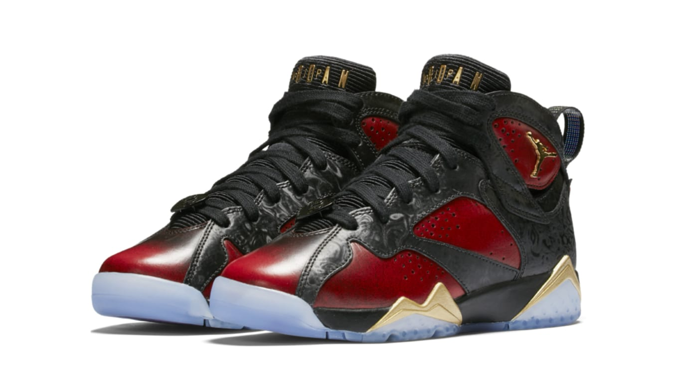 49d9854b752e Doernbecher Air Jordan 7s Are Releasing For Kids Too. DB love for the GS  heads.