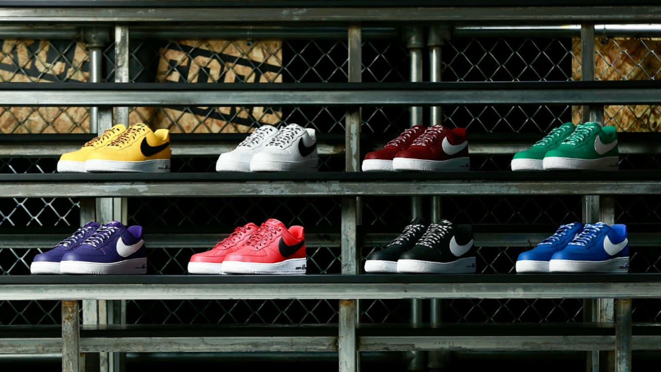 Nike Air Force 1 Low Statement Game Pack With Official Nba Logos