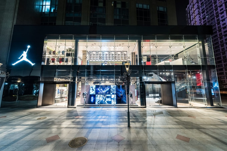 8fc5352afd5e4b Inside the Jordan 9 Guanghua Store in China