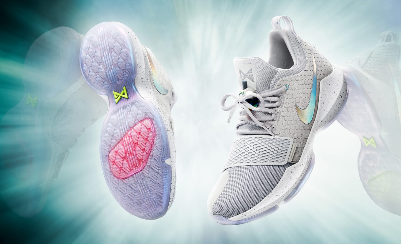 d1c3b4ec27f6 Nike Unveils Paul George s First Signature Shoe. Nike PG1 to retail for   110.