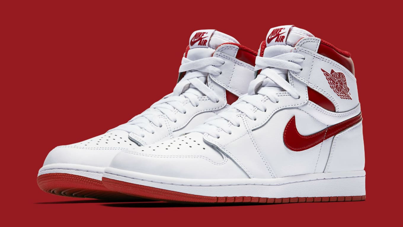 reputable site 66720 f54b2  Metallic Red  Air Jordan 1s Releasing on May 6
