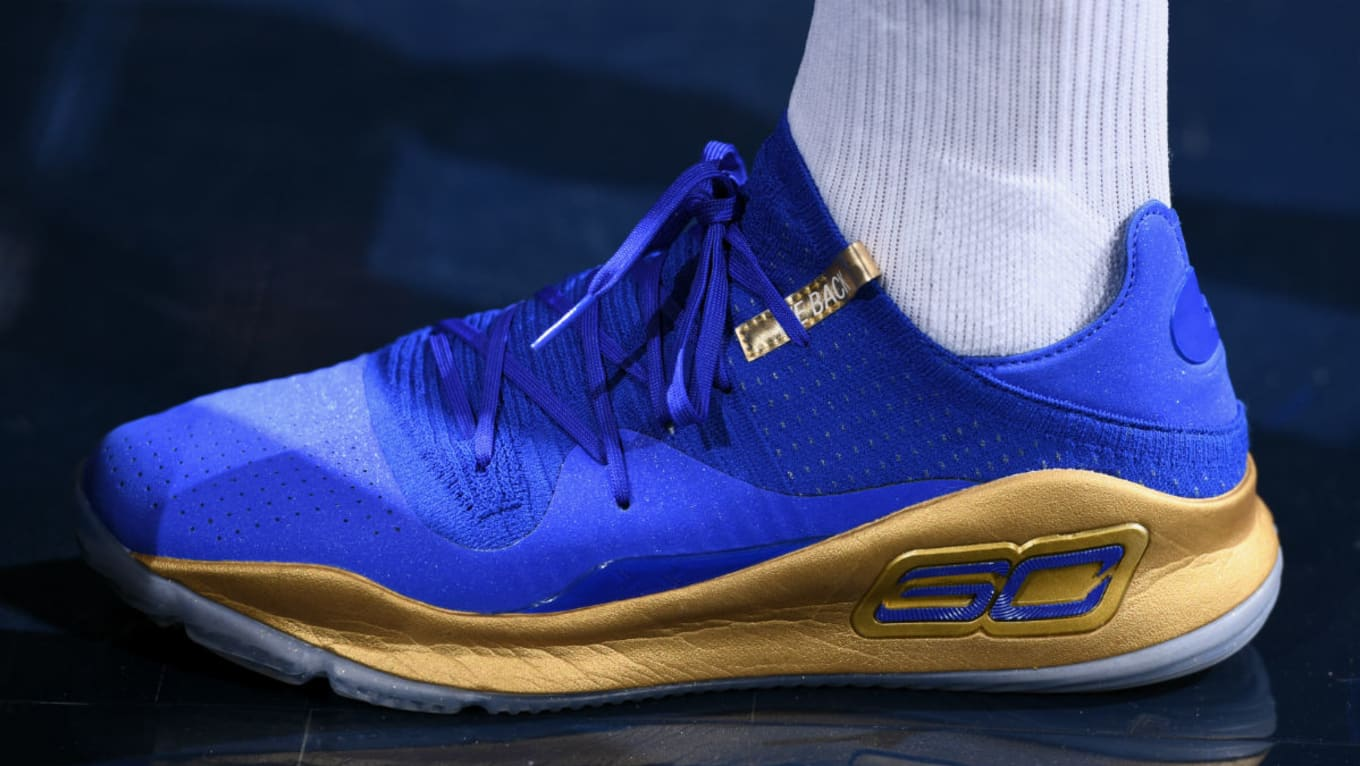 c77d3c6f179b  SoleWatch  Stephen Curry Warms Up in New Curry 4 Lows