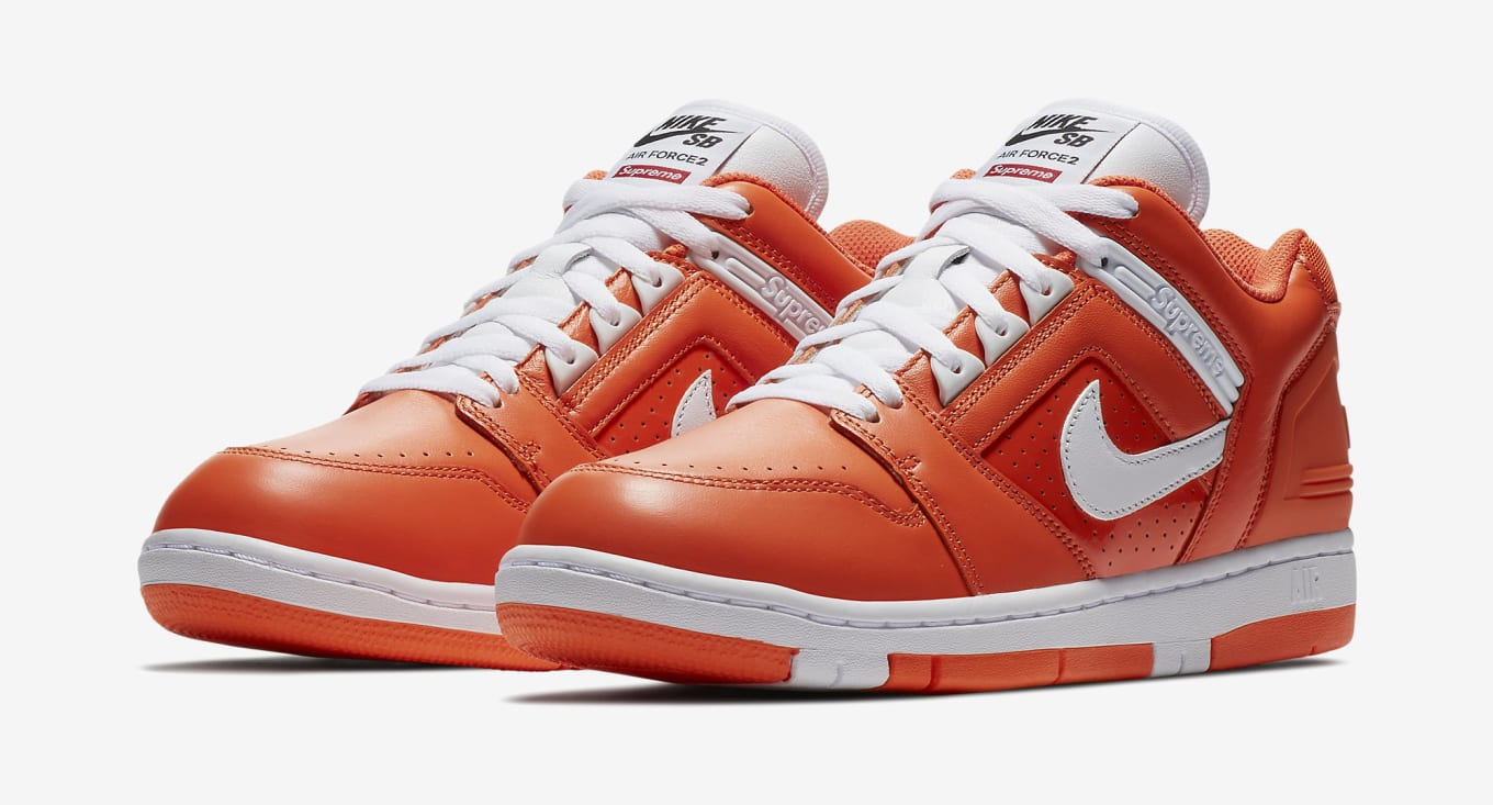 0599fa73f279 Supreme Nike SB Air Force 2 Online Release