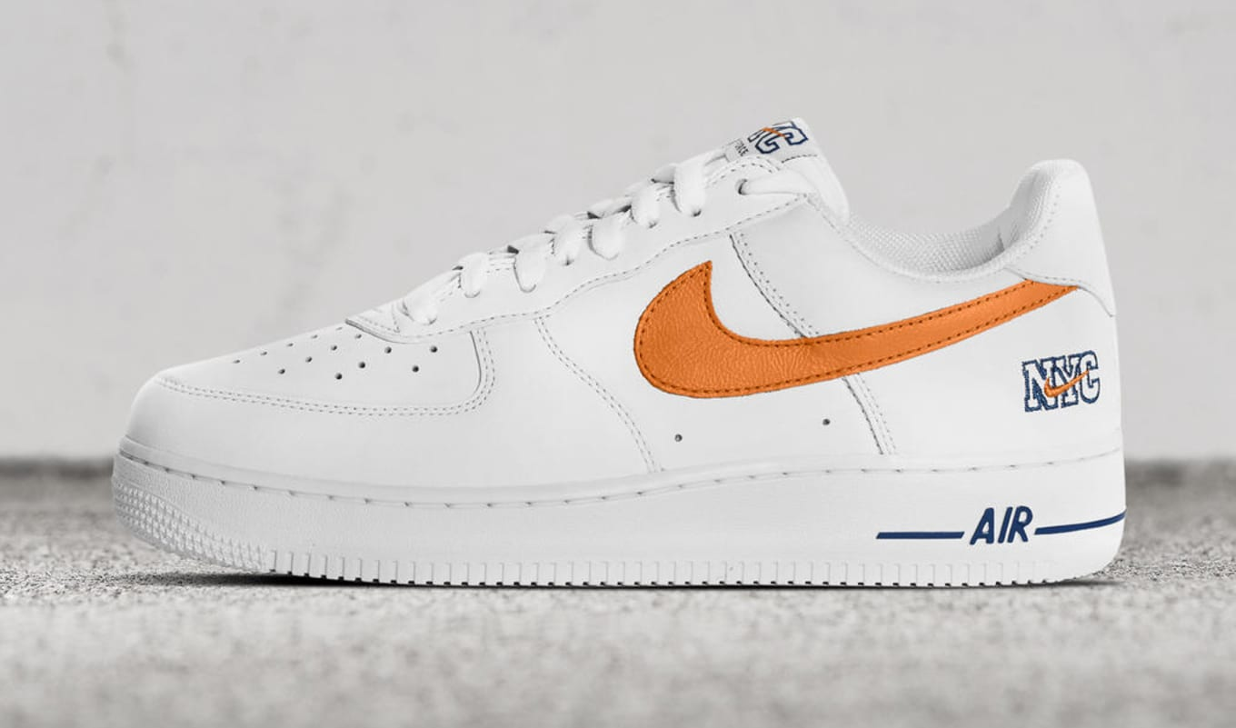 931f005d2e0e7b NYC Nike Air Force 1 Low White Orange Blue