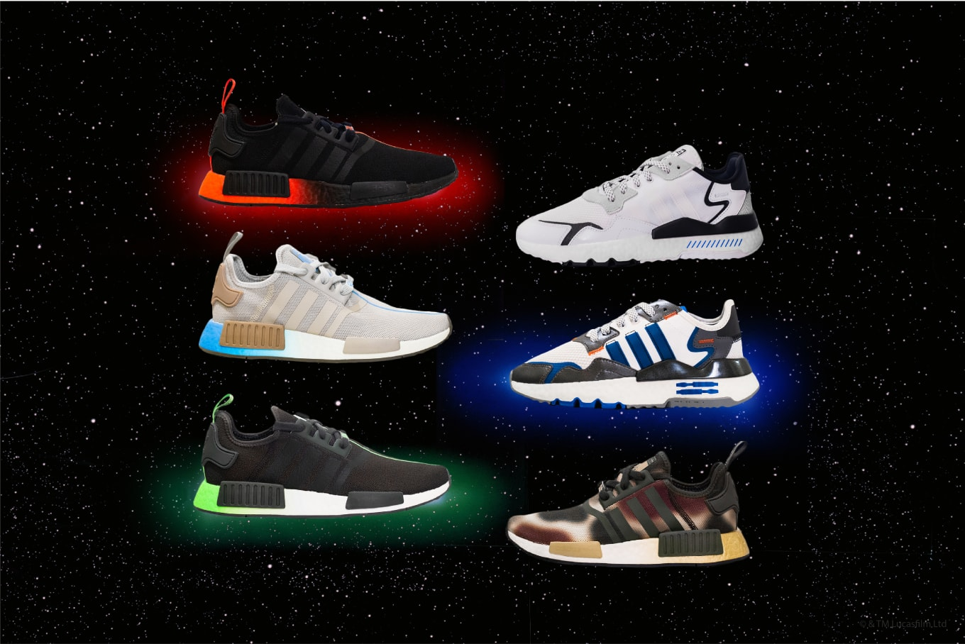 Star Wars x Adidas Running 'Character' Collection Release