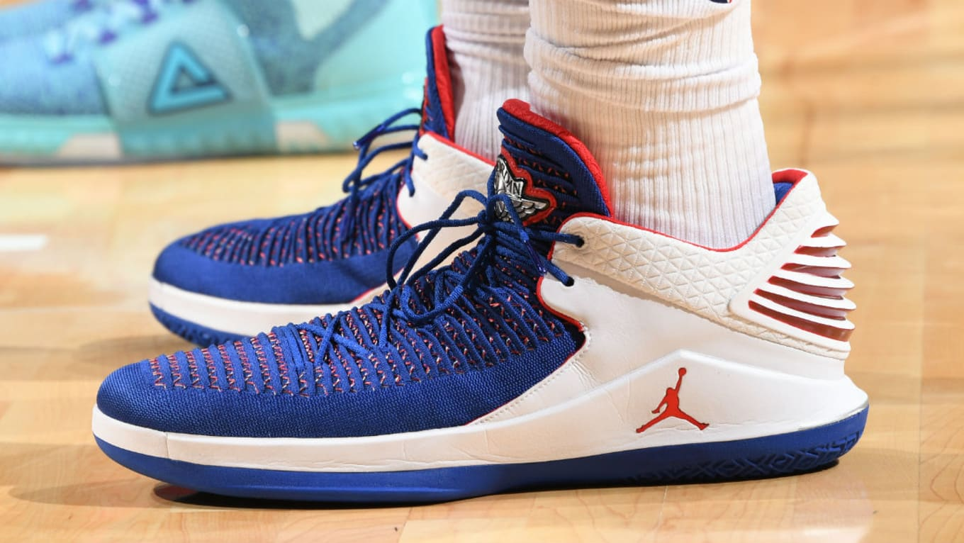 243b4a4a8b9 Andre Drummond Air Jordan 32 Low Pistons PE | Sole Collector