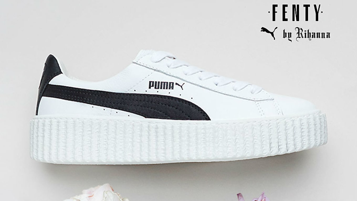 wholesale dealer 304b3 d8b5c Rihanna Puma Creeper White Cracked Leather Release Date ...
