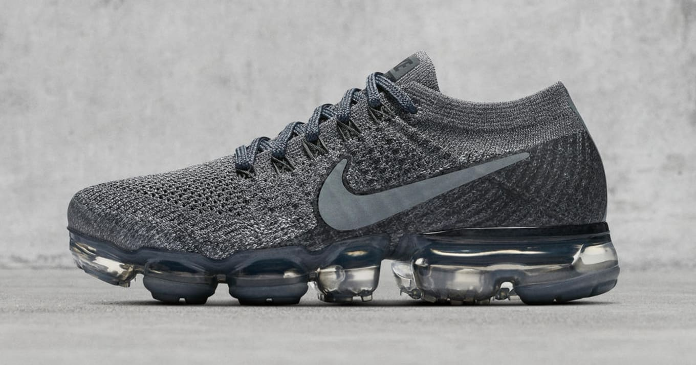 2beacf22002e Nike Preps Next VaporMax Release.  Dark Grey  colorway coming on Aug. 3.
