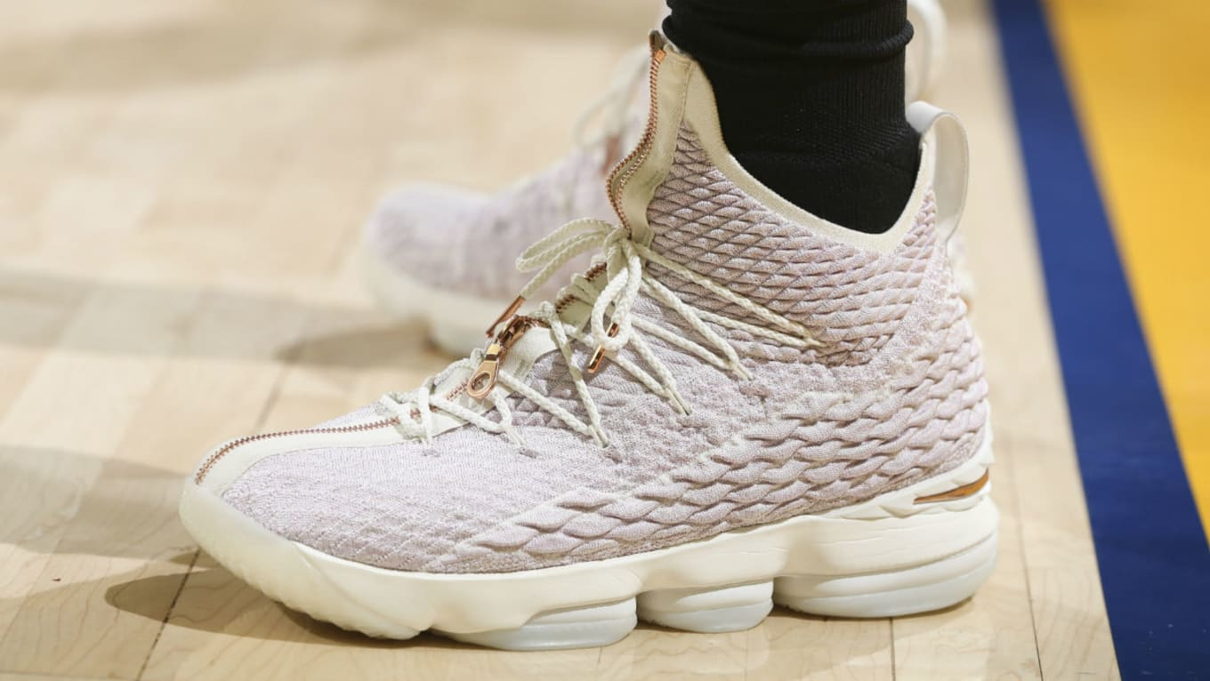 finest selection 556be b1774 LeBron James Kith x Nike LeBron Performance 15 Rose Gold ...