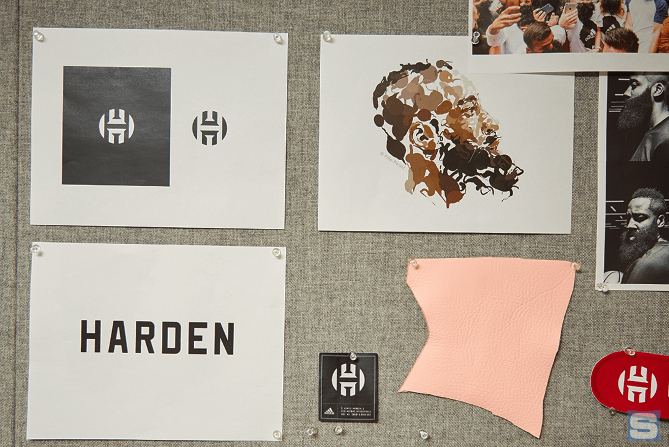 06339643f148 James Harden specifically requested a subtle logo.