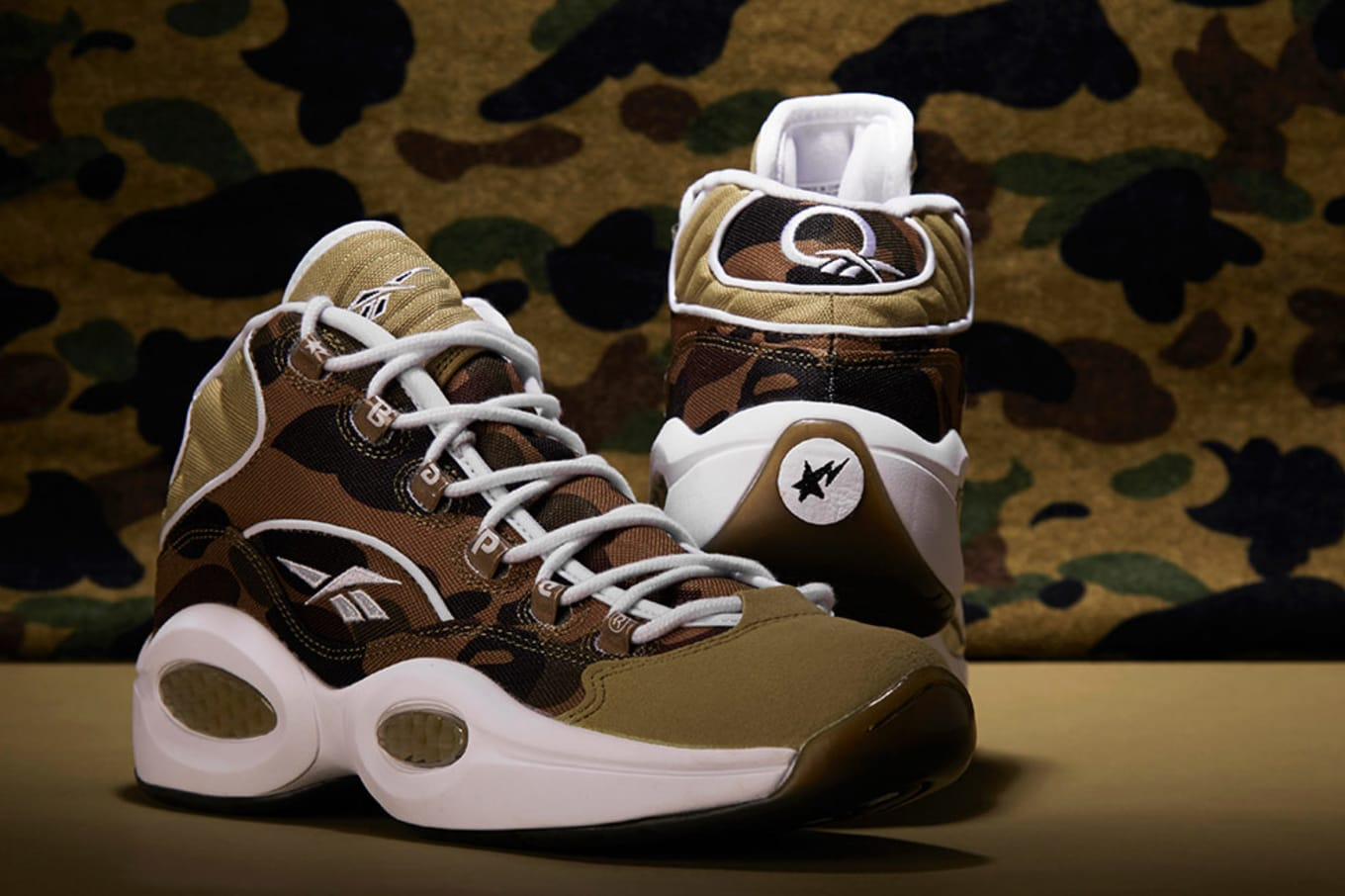 09b12d41495a Bape x Mita Sneakers x Reebok Question Mid