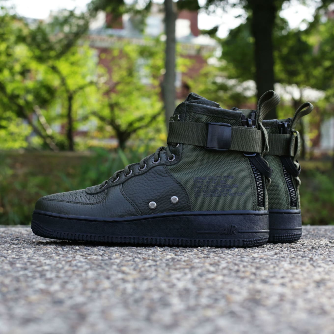4de3c3dbcf Nike SF Air Force 1 Mid Sequoia Release Date 917753-300 | Sole Collector