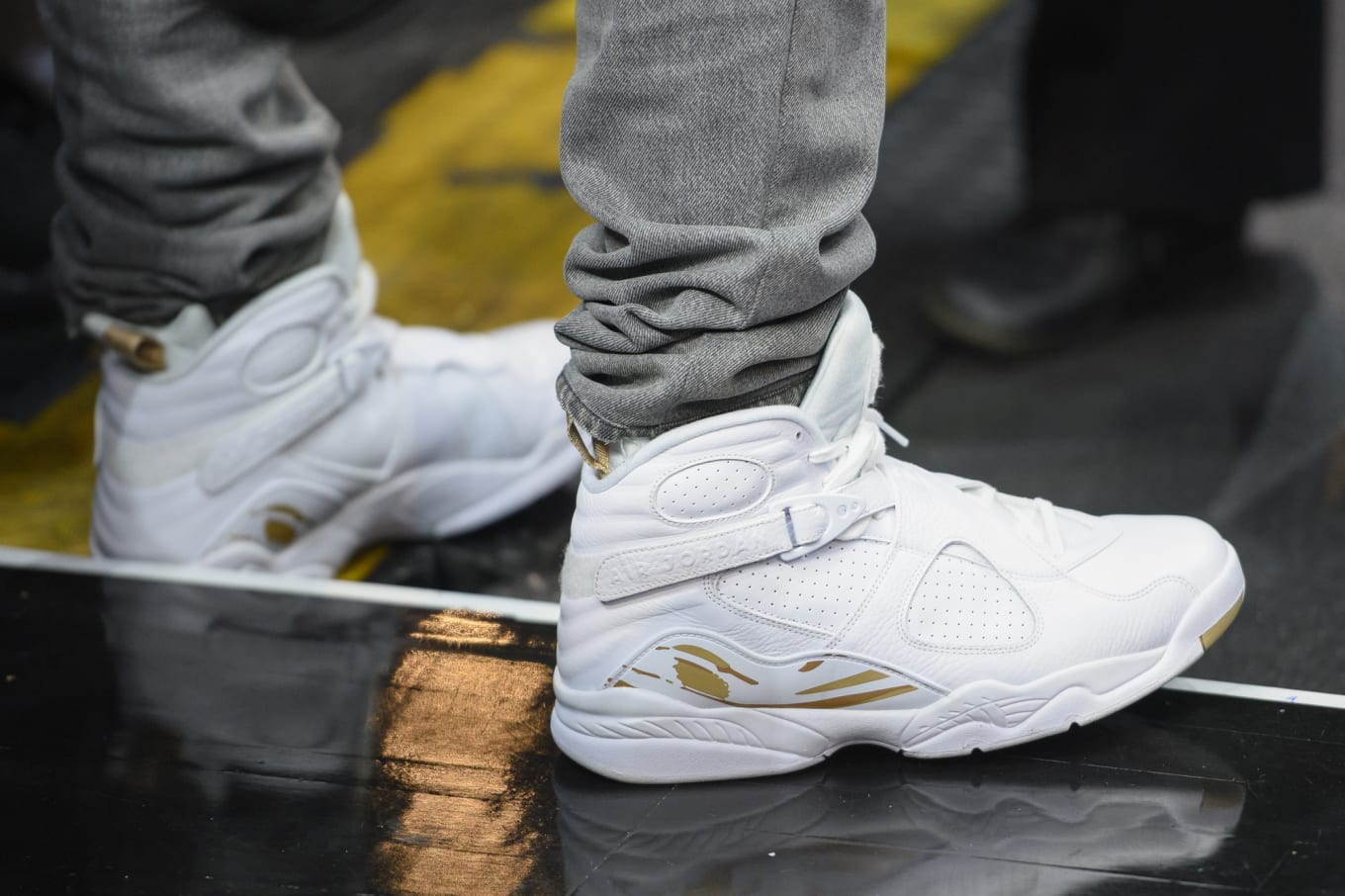 buy popular a4714 14d00 OVO Air Jordan 8s Releasing in January. Black and white pairs scheduled for  2018.