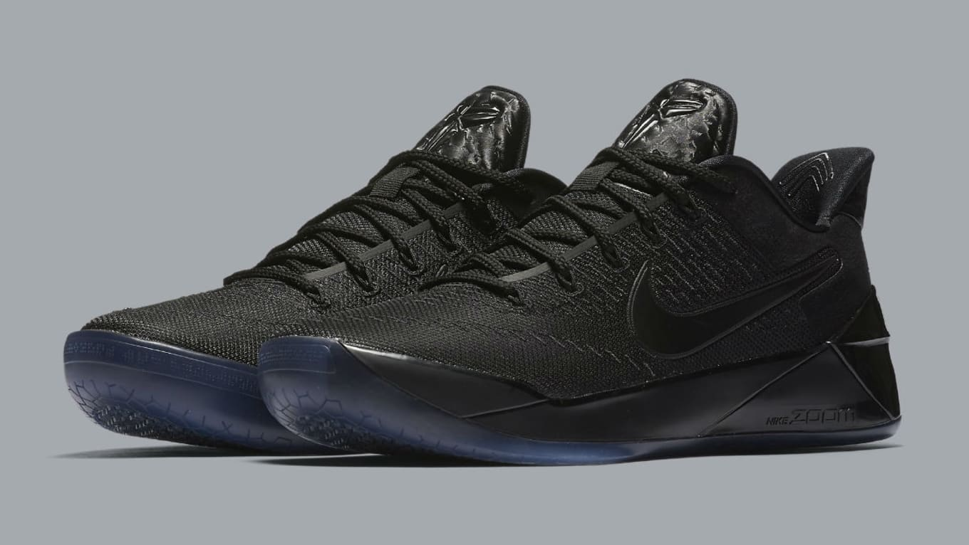 newest 287d7 ad9db Kobe s latest releasing in a triple-black colorway.