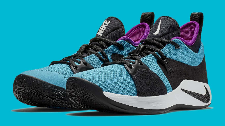 9231cb74652 Nike PG 2  Blue Lagoon Hyper Violet White  AJ2039-402 Release Date ...