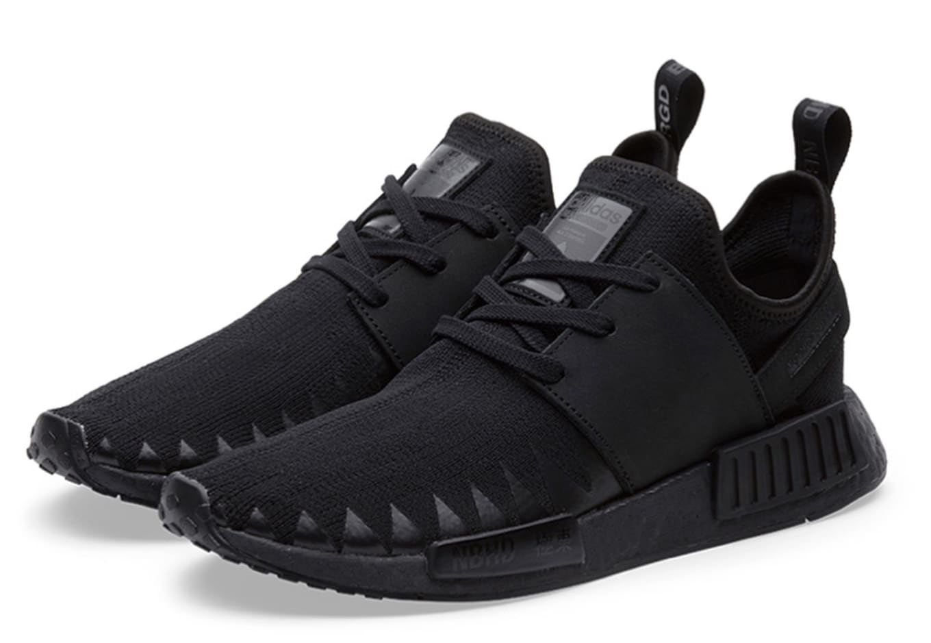 100% authentic 440d5 ed8d1 Neighborhood x Adidas NMD_R1 PK 'Triple Black' Release Date ...