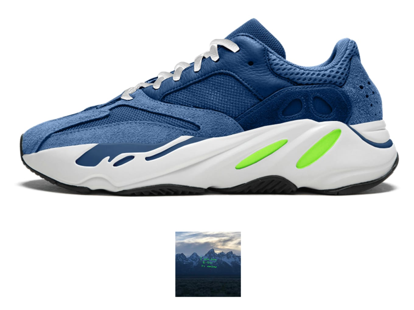 buy popular 043f8 f8270 Kanye West Yeezy 700 Albums | Sole Collector