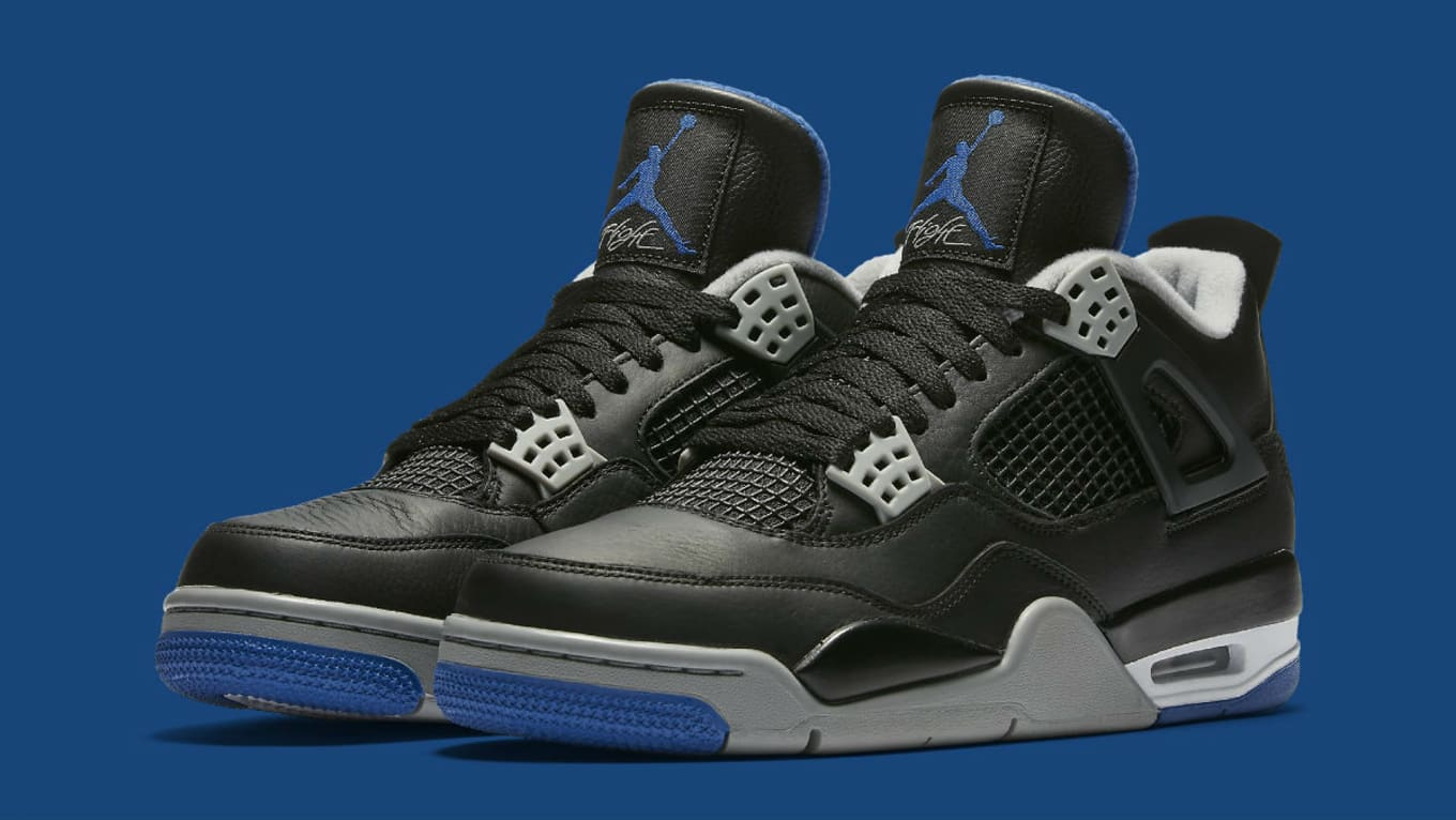 aa612bcfb5a32b Air Jordan 4 Game Royal Motorsports Release Date 308497-006