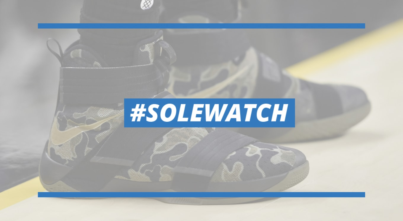 d5b8978bd9c97 SoleWatch LeBron James Two Soldiers First Loss