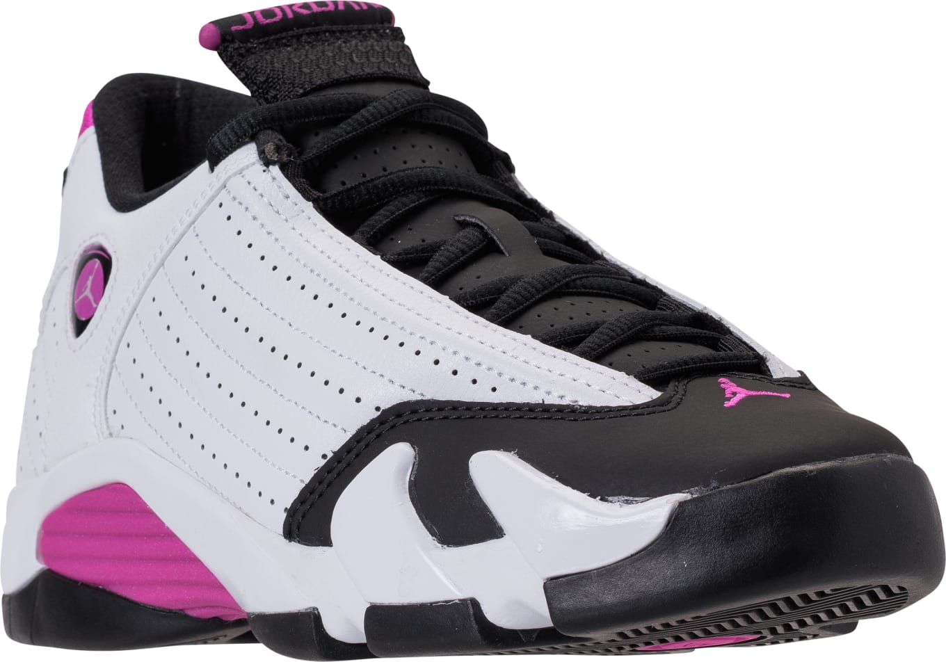 1755c605aa4a The  Black Toe  Air Jordan 14 Remixed for Girls.  Fuchsia Blast  set for  May launch.