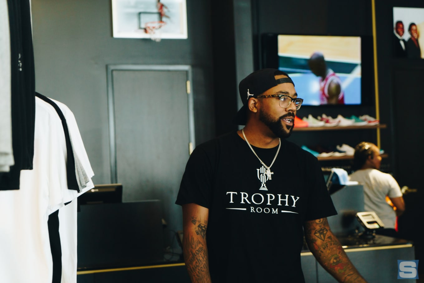 40dc6e5314050b Marcus Jordan on opening his own sneaker store and why he s more than just Michael  Jordan s son.