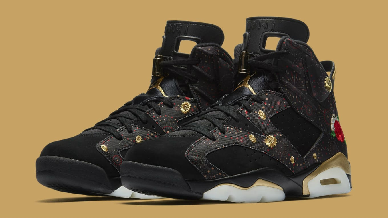 Air Jordan 6 VI Chinese New Year 2018 Release Date AA2492-021  9fad417d2
