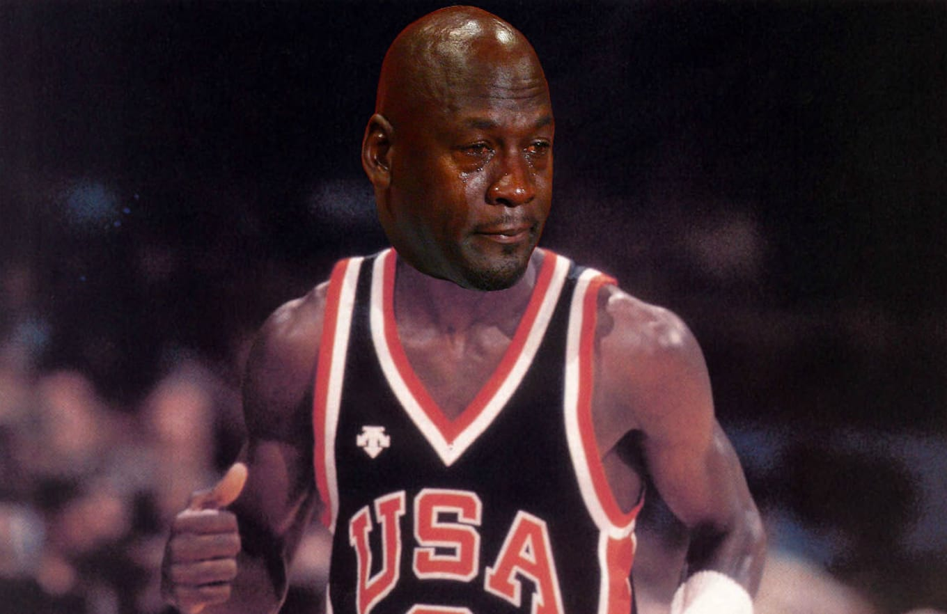 cheap for discount dbf62 4be28 Coach Bobby Knight Made Michael Jordan Cry During the 1984 ...