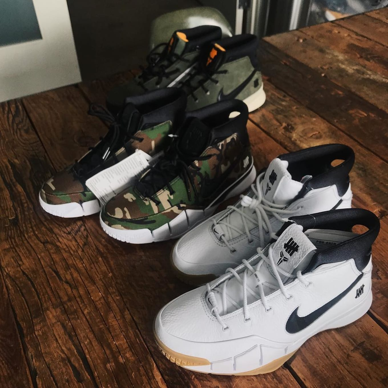 sale retailer acb23 4e851 Yet Another UNDFTD x Nike Zoom Kobe 1 Protro Colorway
