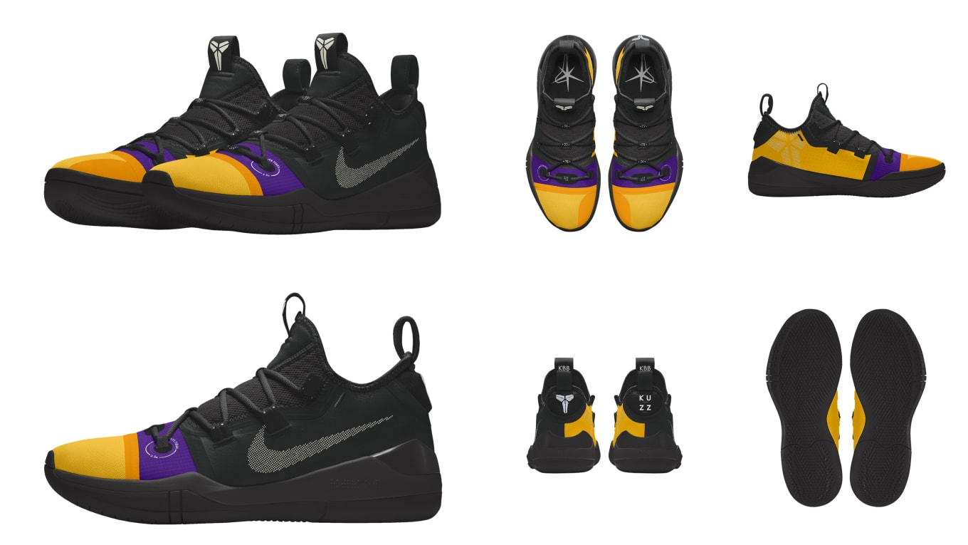 2e7f0709746d Nike Kyrie 4  Be Different  - Nike Let Players Design Sneakers for ...