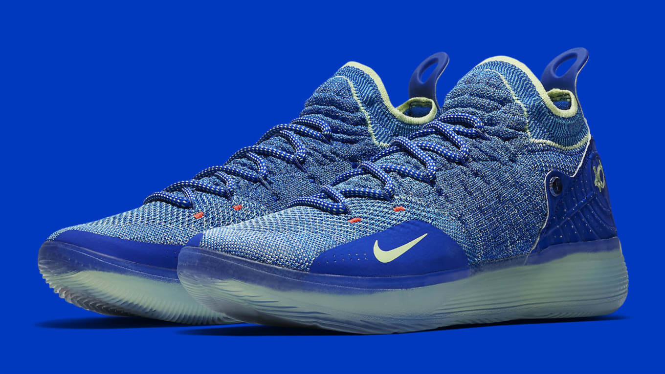 new product 345eb 1a4d5 Nike Zoom KD 11 EP Blue Release Date AO2605-900   Sole Collector