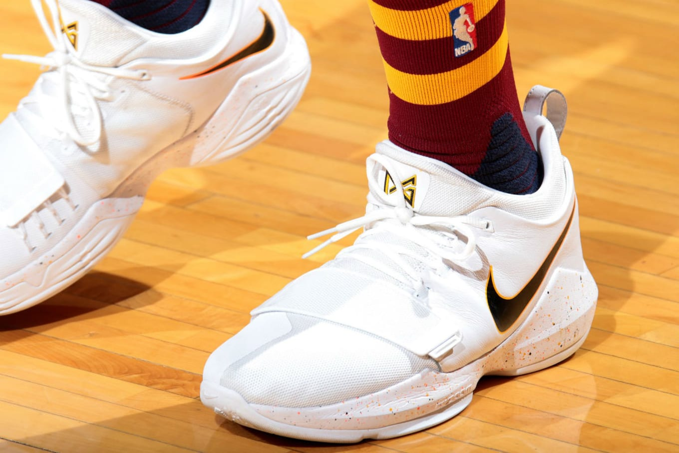 9372db455a6  SoleWatch  Paul George Debuts
