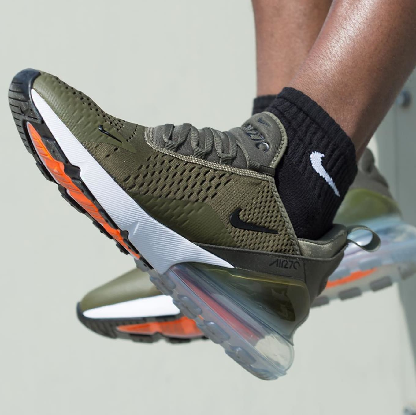 Nike Air Max 270 Olive Release Date AH8050 201 | Sole Collector