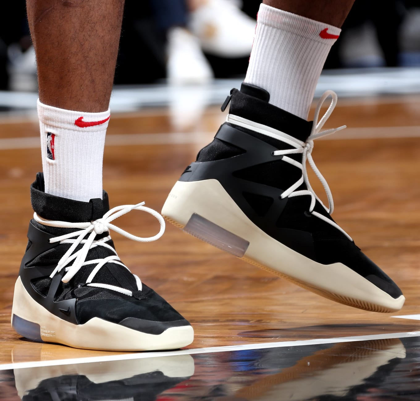 dcd43f012b6 P.J. Tucker Plays in Jerry Lorenzo s Nike Air Fear of God Collaboration